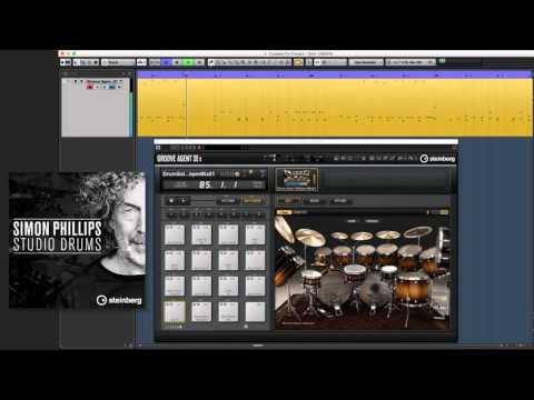 Simon Phillips Studio Drums - Drum Solo