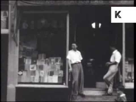 Late 1930s New York, Lower East Side, Chinatown, Rare Home Movie Archive Footage