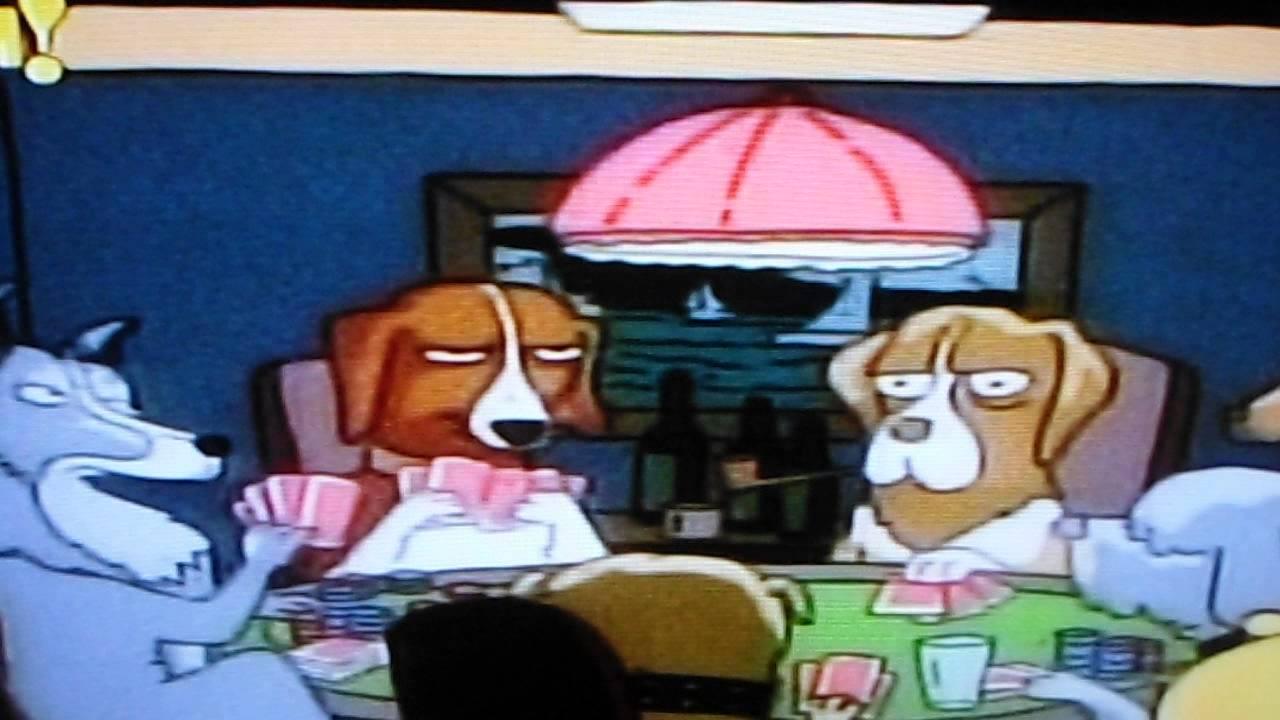 Son Perros Y Estan Jugando Al Poker Homero Simpson Youtube