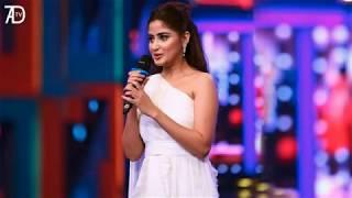 Sajal Ali Singing O Rangreza Song at Qmobile Hum Style Awards 2017
