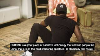 Bringing music to life with SUBPAC engineer Steve Snooks
