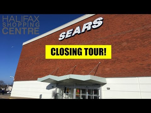 Sears Canada Closing: Halifax Shopping Centre