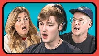 YOUTUBERS REACT TO CRAZY RUSSIAN MUSIC VIDEO | #SkibidiChallenge
