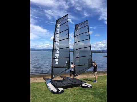 Wave Chaser crafts a new genre between catamaran and windsurfer