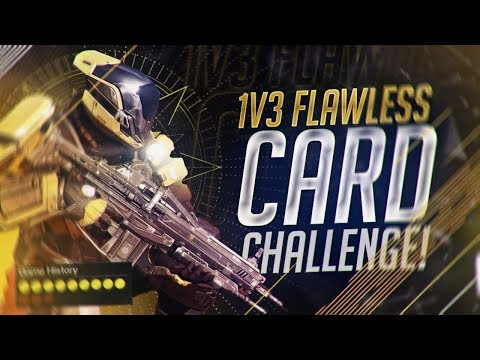 DESTINY: THE 1V3 FLAWLESS CARD CHALLENGE ON ASYLUM