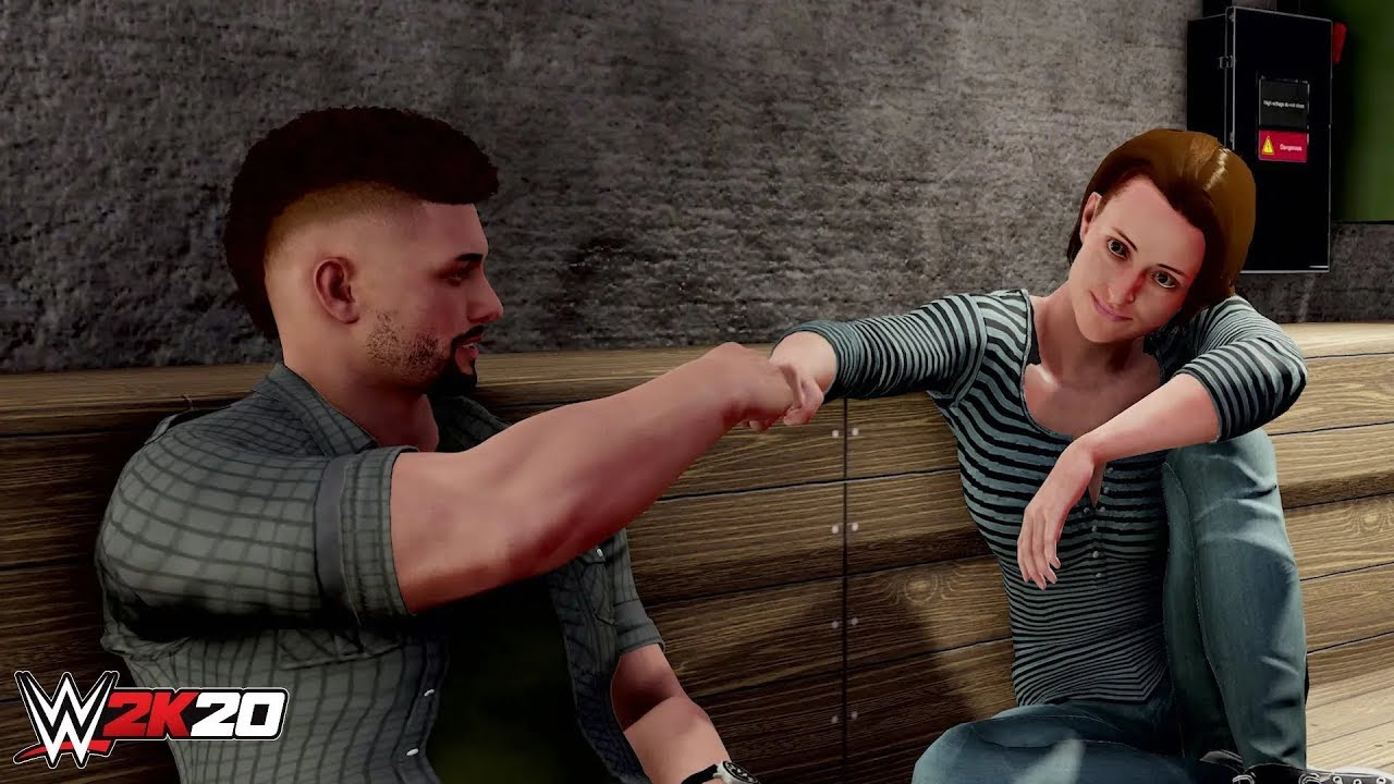 WWE 2K20 - My Career Trailer   PS4