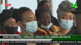 Rawlings' Family Request Privacy Following His Death