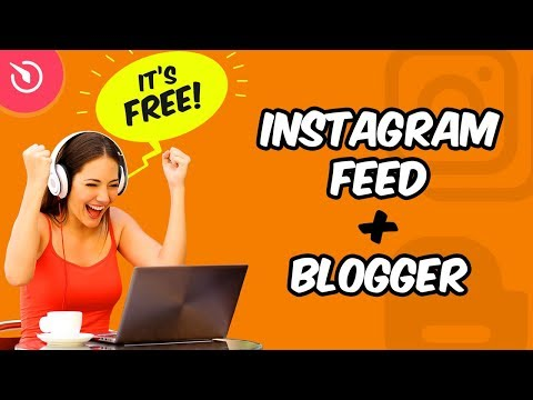 How to Add Instagram Widget to Blogger Using Elfsight Apps