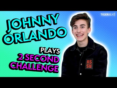Johnny Orlando Takes On The 2 Second Challenge | TigerBeat TV