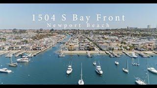 1504 S Bay Front in Newport Beach, California