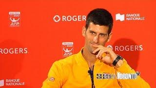 Serbian Toronto Television - Novak Djokovic - Rogers Cup 2015 - Srpska Televizija Toronto