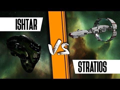 Stratios Vs Moa, Ishtar And Geckos - EVE Online PvP
