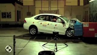 КРАШ ТЕСТ ФОЛЬКСВАГЕН ПОЛО, VW Polo Sedan crash test   4 star safety rating(Надежный блокиратор педалей