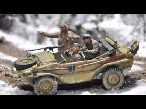 """Ardennes Forest Diorama """"Gathering Storm"""" Reboot"""