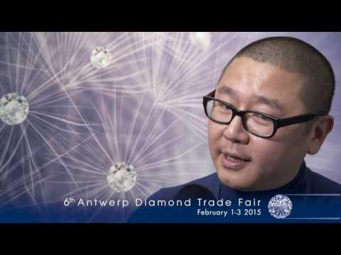 Antwerp Diamond Trade Fair 2014 INTERVIEW Fei Liu