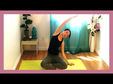Gentle Hatha 30 min Beginner Yoga Class - Building A Strong Foundation