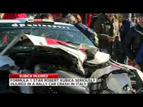 Kubica in surgery after horror car crash youtube for Kubica cars