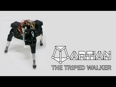 "Triped Walking Robot ""Martian"" for Analysis of Autonomous Gait Generation"