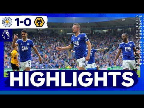Vardy Stunner Beats Wolves In Season Opener |  Leicester City 1 Wolverhampton Wanderers 0