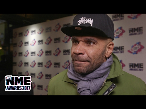 Goldie on his new album and drum n' bass today - VO5 NME Awards 2017