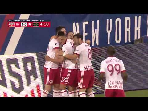 Lamar Hunt U.S. Open Cup: New York Red Bulls vs. Philadelphia Union: Highlights - June 28, 2017