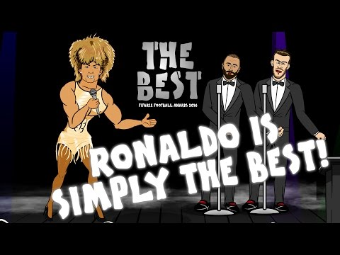 Ronaldo is simply THE BEST player! (FIFA Awards 2016)