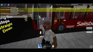 ROBLOX Salisbury & District Bus Simulator Bus review QL Enviro 200 Part 1
