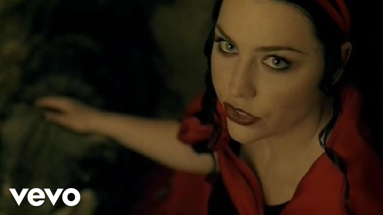evanescence video call me: