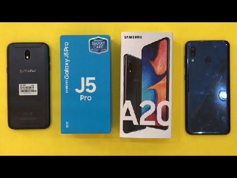 Samsung Galaxy A20 Vs Samsung Galaxy J5 2017
