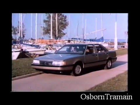 1988 Eagle Premier Demonstration Film Full Length - Commercial
