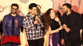 Simmba Trailer Launch | Part 2 | Ranveer Singh, Sara Ali Khan, Rohit Shetty, Karan Johar