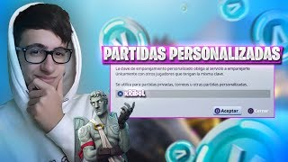 J'ai CUSTOMIZED PRIVATE PARTIES EN LIVE FORTNITE ET NEW STORE NEW SKINS?