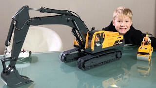EXCAVATOR VOLVO EC480DL RC 👍 unboxing by JACK (5) fits BRUDER TRUCKS😊 ✅