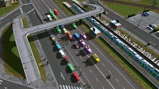 Piesi na autostradzie  - Cities: Skylines S07E70