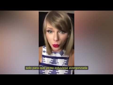 Taylor Swift Hablando Sobre Cara Delevingne