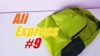 UNBOXING: AliExpress Haul - FOLDABLE BACKPACK #9