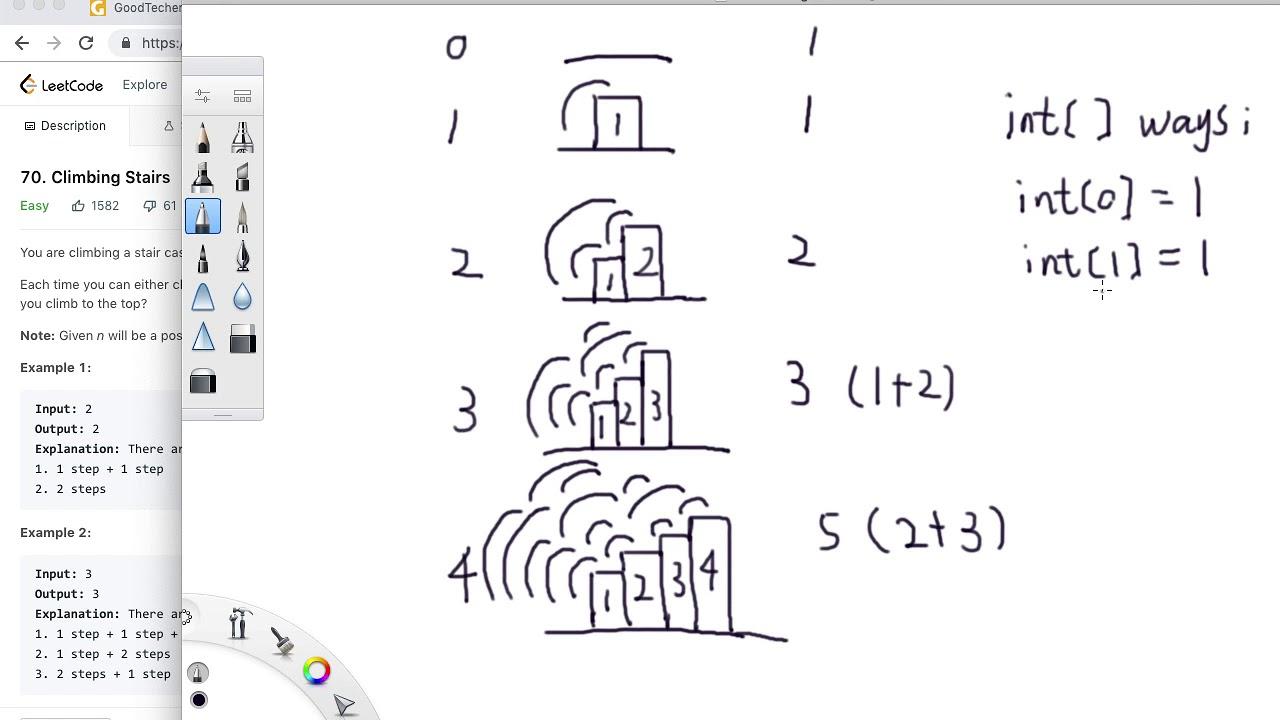 LeetCode 70  Climbing Stairs - GoodTecher