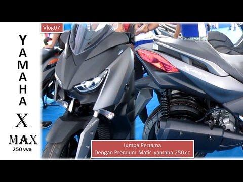 Yamaha X Max 250 VVA First Impression Denpasar Bali