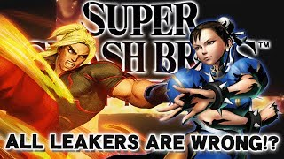 ALL THE LEAKERS ARE WRONG!? - Super Smash Bros. Ultimate Leak Analysis!