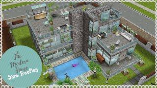 Modern Sims Freeplay House Design