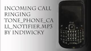 incoming call ringing tone phone call notifier mp3 by indiwicky
