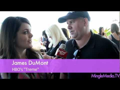James Dumont at the 2012 Secret Room Oscars Celebrity Lounge