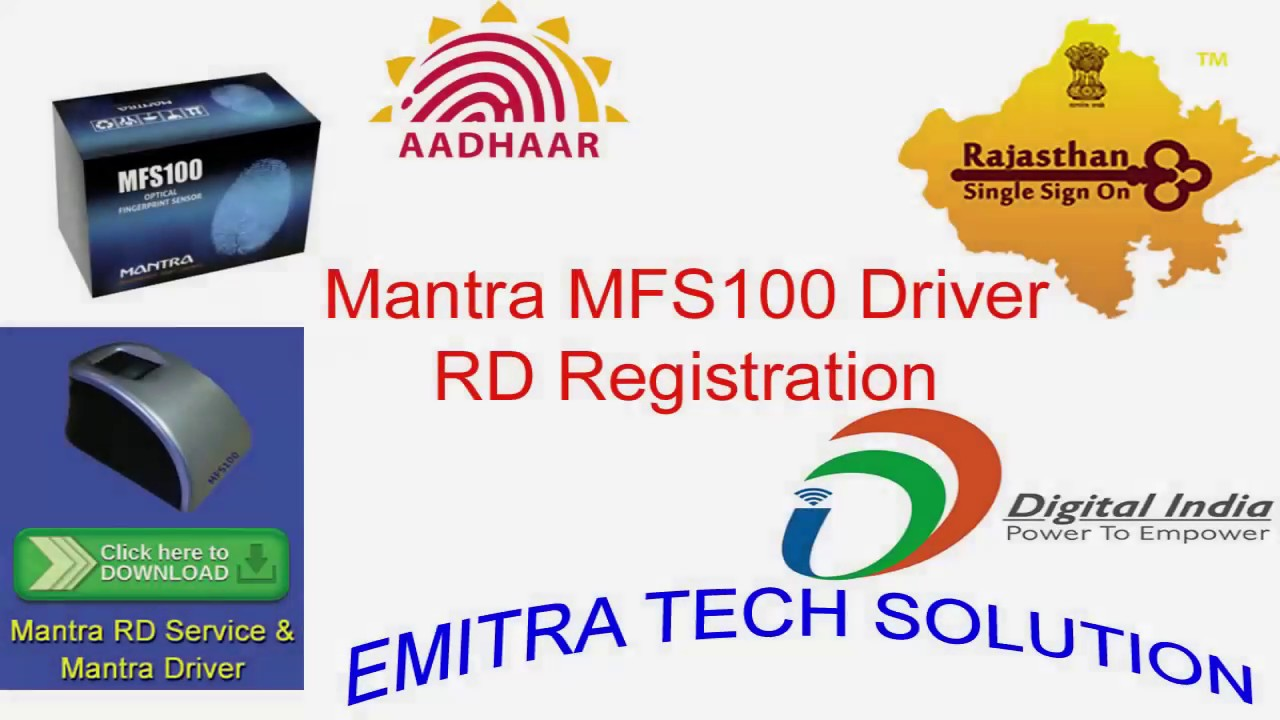 How To Install Mantra Mfs 100 Biometric Device Driver And Rd