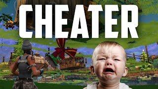 Cheater Gets Instant Karma (Fortnite Battle Royale)