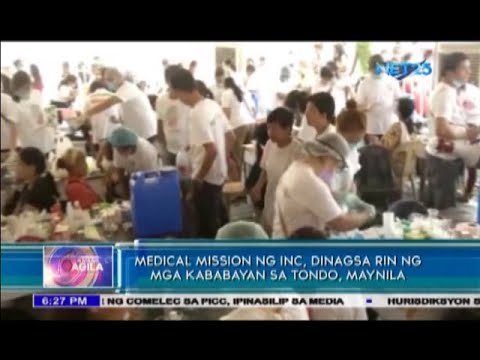 INC medical and dental mission in Tondo,Manila April 29