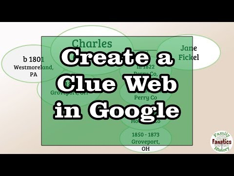 How to Create a Clue Web with Google