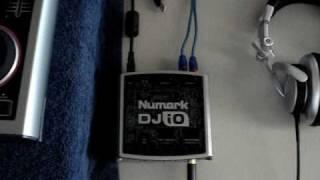 Quick video on the Numark DJ IO