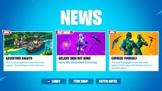 the GALAXY SKIN RETURNED to the Fortnite Item Shop...