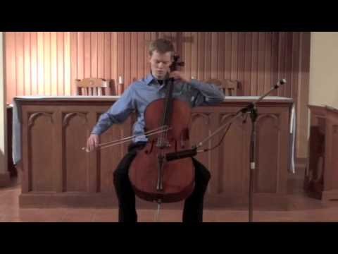 Crumb - Sonata for Solo Cello: I. Fantasia (Rylan Gajek Leonard)