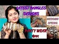 Wedding Bridal series/TYPES OF BRIDAL BANGLES(KANGAN) FOR INDIAN WEDDING/PARTY WEAR
